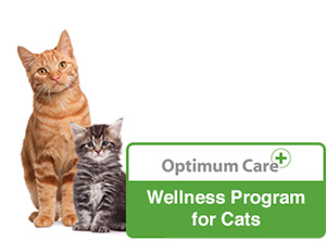 Optimum Care Wellness Program for Cats badge